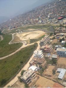 6月9日、ヘリコプターからの眺め