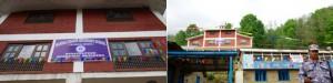 フルカルカ村に昨年開校した農業技術教育館。